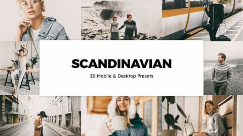 20 Scandinavian LUTs and Lightroom Presets