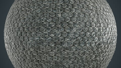 PBR Bubble Wrap (Stylized) 4K  MATERIAL