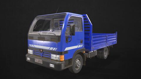 Light Truck Tipper - Low Poly