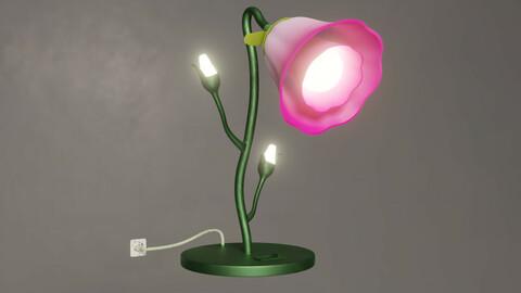Flower Desk Lamp