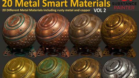 20 Metal Smart Material - Vol 2