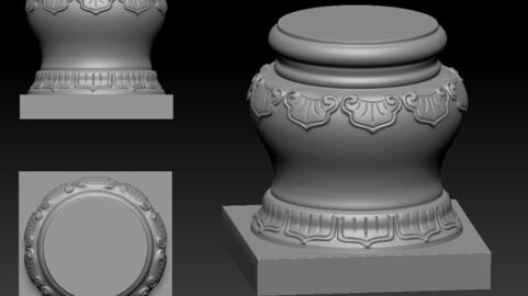 Reliefs sculptures for 3Dprinter