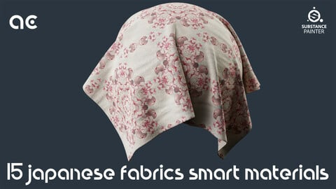 Japanese Fabrics Smart Materials Collection Vol.2   15 Smart Materials