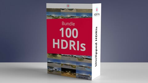 100 Hdris Bundle - Pack