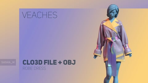 """Robe Dress """"Veaches"""""""