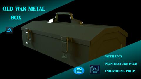 WAR OLDMETAL BOX