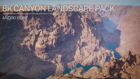 8K Canyon Landscape Pack