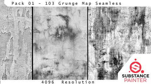 Pack 01 - 103 Grunge Map - Seamless