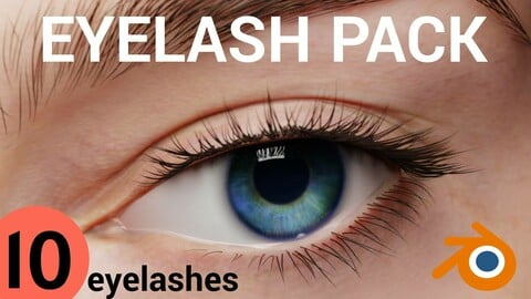 Eyelash Pack (Blender)