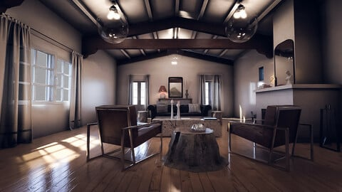 Oakland Living Room