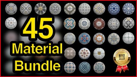 45 High Quality Tile Material Bundle