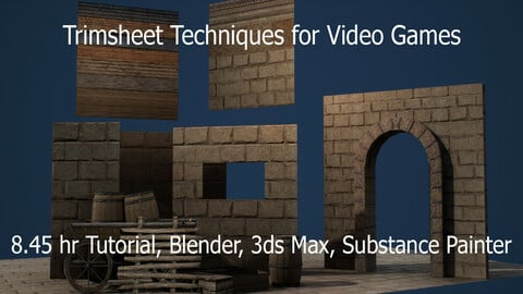 Trimsheet Techniques for Video Games