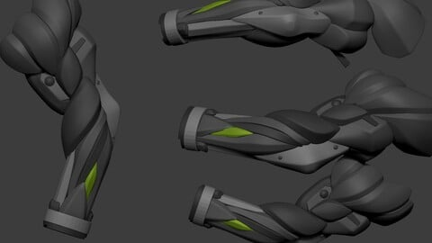 Arm Mech Basemesh Dynamic