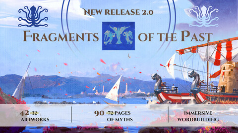 Fragments of the Past - the Narrative Artbook - ENHANCED EDITION