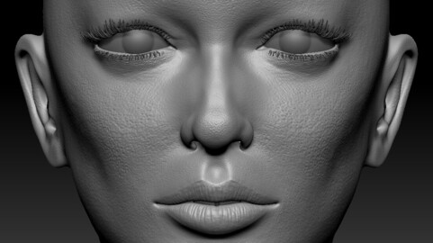 The Woman - Female Body - Very High Detail Sculpt 3D Low-poly 3D model