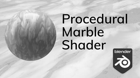 Procedural Marble Shader
