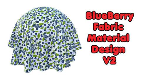 BlueBerry Fabric Material Design V2 / Sbsar / Substance Painter