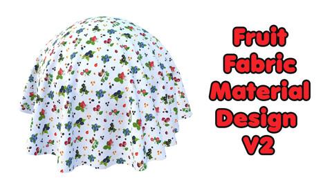 Fruit Fabric Material Design V2 / Sbsar / Substance Painter