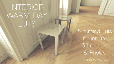 Interior Warm Day - Curated 3D Luts
