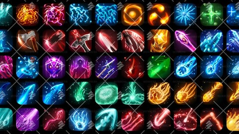 Skill & Abilites Icon Pack[50] #1