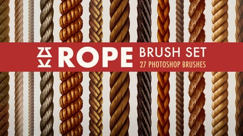 Rope Brush Set
