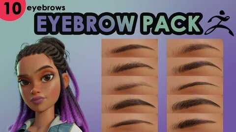 Eyebrow Pack (ZBrush)