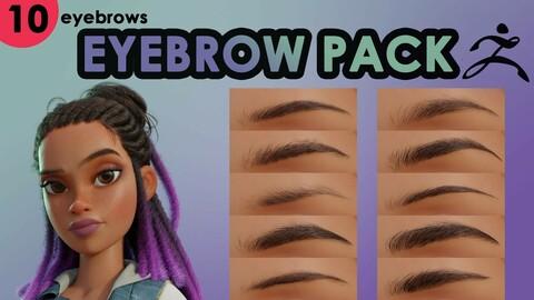 Eyebrow Pack (ZBrush)