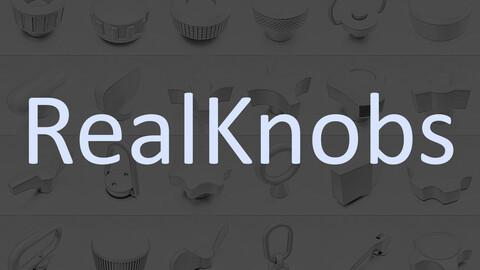 RealKnobs Plugs For Meshmachine