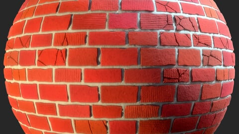 Stylized Bricks Material