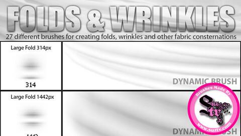Folds and Wrinkles Photoshop Dynamic Brush