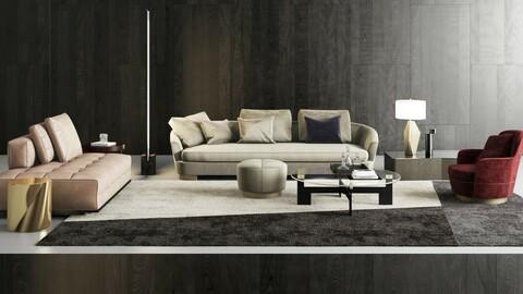 Coleccion 2 -  Sofa 3d