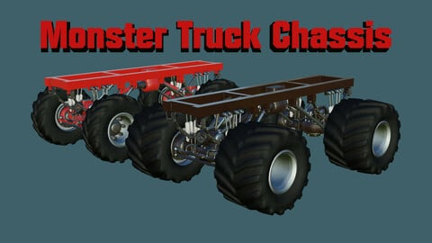 [Game Ready] Monster Truck Chassis