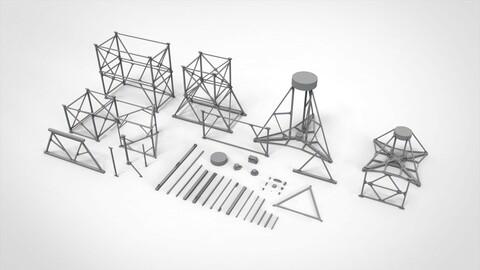 Metal truss 4
