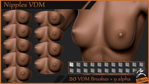 Nipples VDM brush