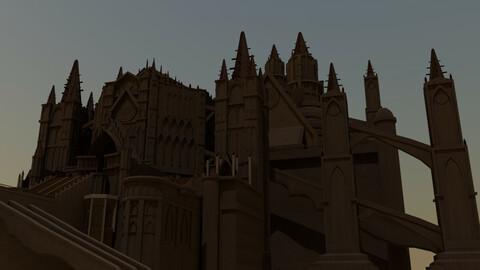 Dark Souls Building Asset Pack 1