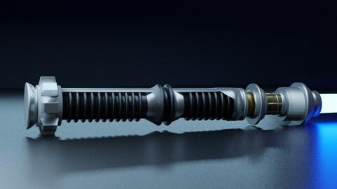Lightsaber - Kyle Katarn (Jedi Knight II)