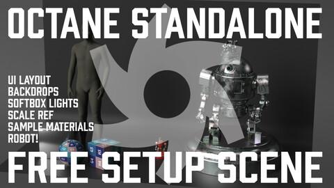 Octane Standalone Setup Scene