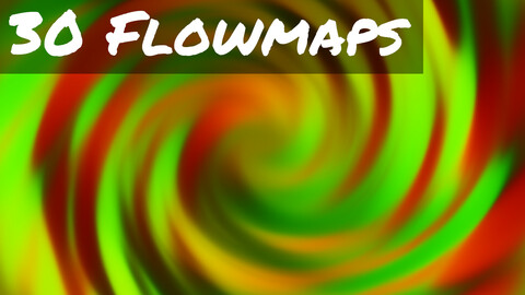 30 Flowmaps for Particle FX - 2k Resolution