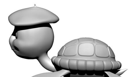 Turtle 3d print model