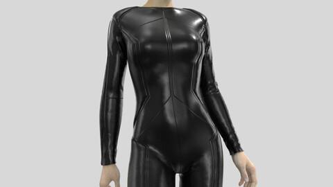 Sci-Fi suit Marvelous Designer
