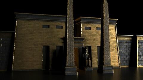 temple of golden pharaoh