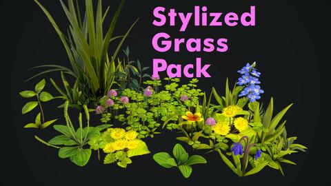 Stylized Grass Pack