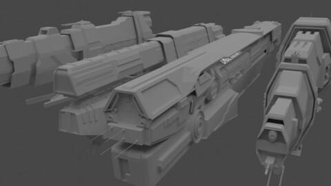 Spaceship Pack 2