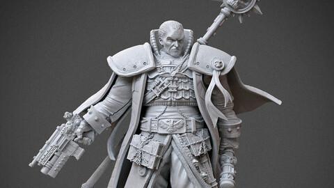 Inquisitor Gregor Eisenhorn - Warhammer 40k 3D print model 3D print model