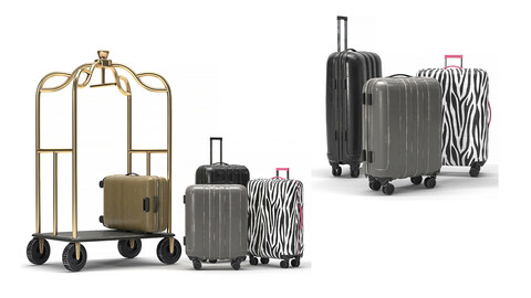 Cart and Luggage
