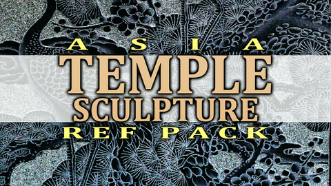 temple sculpture Ref Pack  (Taiwan)