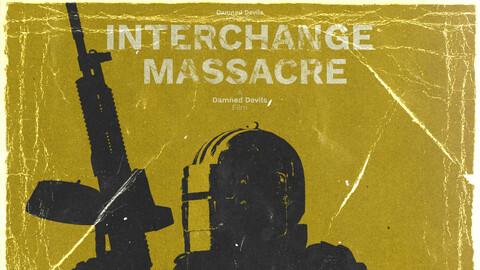Interchange Massacre - Retro Poster - An Escape From Tarkov Film