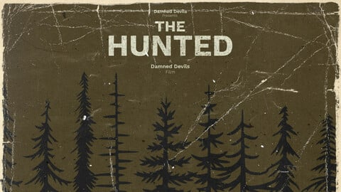 The Hunted - Retro Poster - An Escape From Tarkov Film