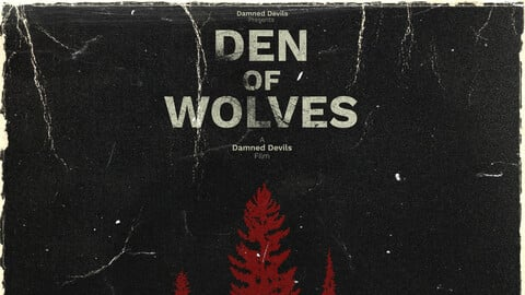Den Of Wolves - Retro Poster - An Escape From Tarkov Film