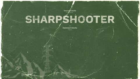 Sharpshooter - Retro Poster - An Escape From Tarkov Film